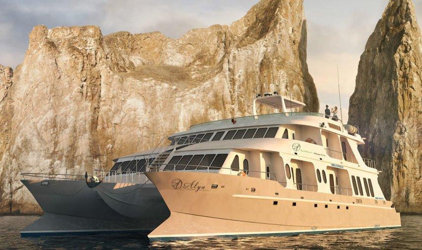 Alya Catamaran exterior