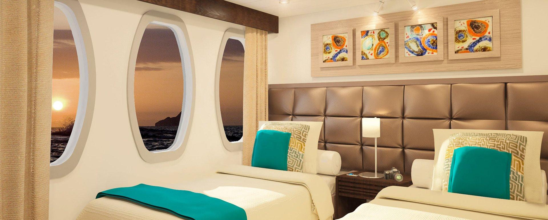 Alya Catamaran twin cabin