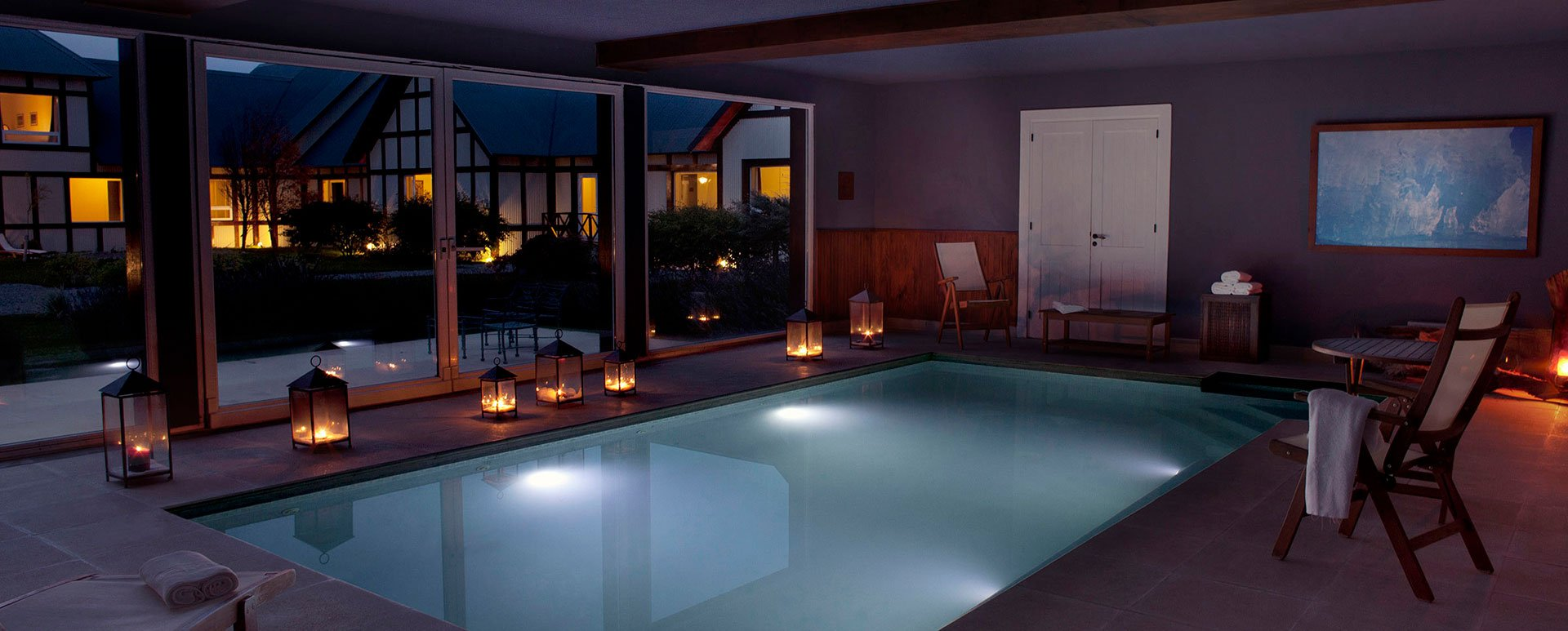 Eolo Patagonia Hotel pool