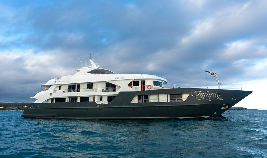 Infinity Galapagos Yacht Exterior