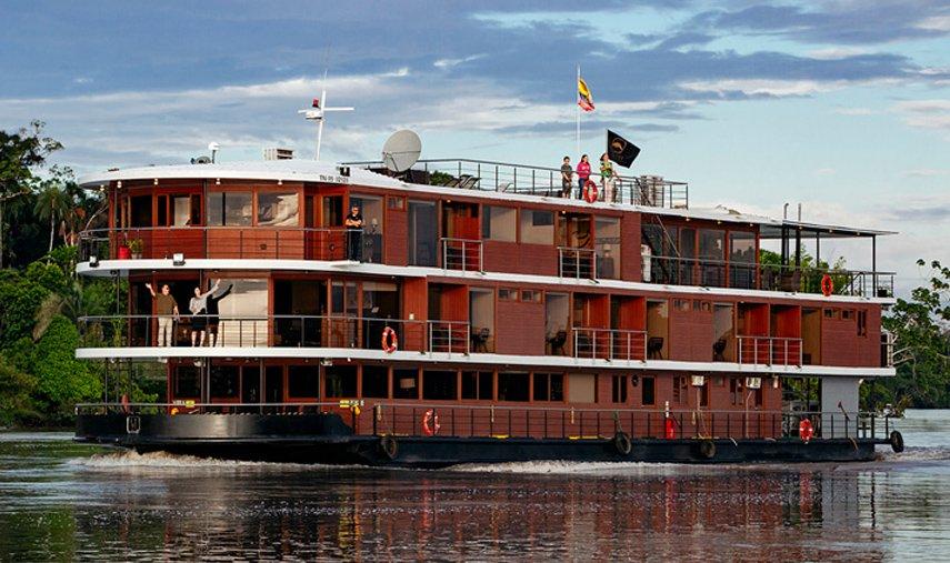 Manatee Amazon Cruise Exterior