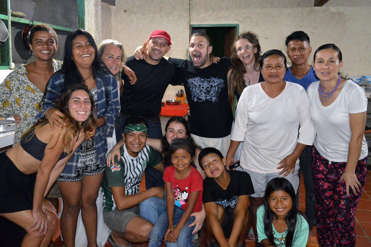 Maria & Volunteers