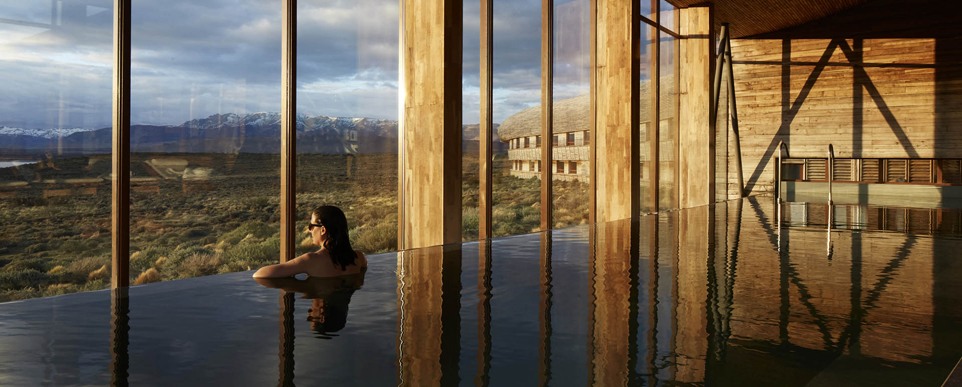 Tierra Patagonia indoor pool
